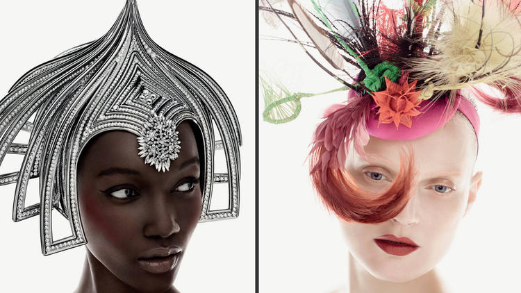 MAC cosmetics and Philip Treacy unleash their sensational headpieces and hats Zero Gravity Blog